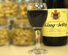 河内ワイン(赤グラス)