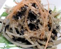 ひじきと牛蒡の胡麻サラダ