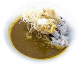 白カリー(十六雑穀ライス)dinnerVer